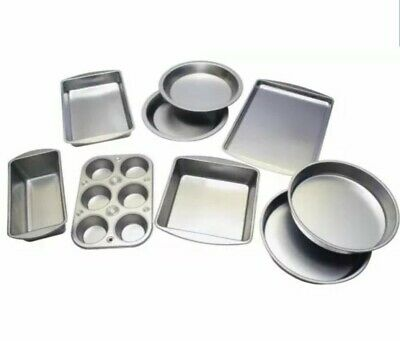 Cooking Concepts Bakeware Heavy Steel Pans Pizza Cake Brownie Muffin Cookie -