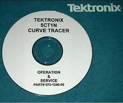 Tek Tektronix 5ct1n Curve Tracer Service Manual