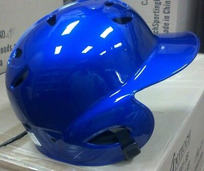 bf310c230fa33 Batting Helmet NOCSAE Cert. Baseball Softball NEW ROYAL BLUE