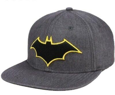 Batman DC Comics Rebirth Logo One Size Flex Cap (OSFM) Osfm Flex Cap
