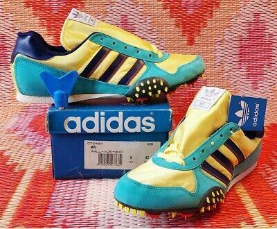Vintage Adidas Running Spikes MIN. UK8.5 US9 EUR 44