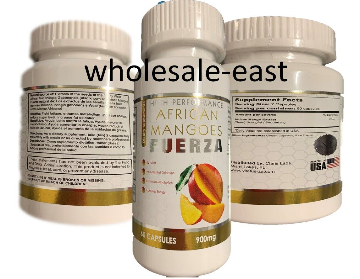 Extreme weight loss pills - PURE AFRICAN MANGO EXTRACT 900mg 1 Bottle 60 Caps 7