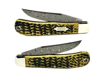 Case xX Tony Bose Raindrop Damascus (1 Knife)