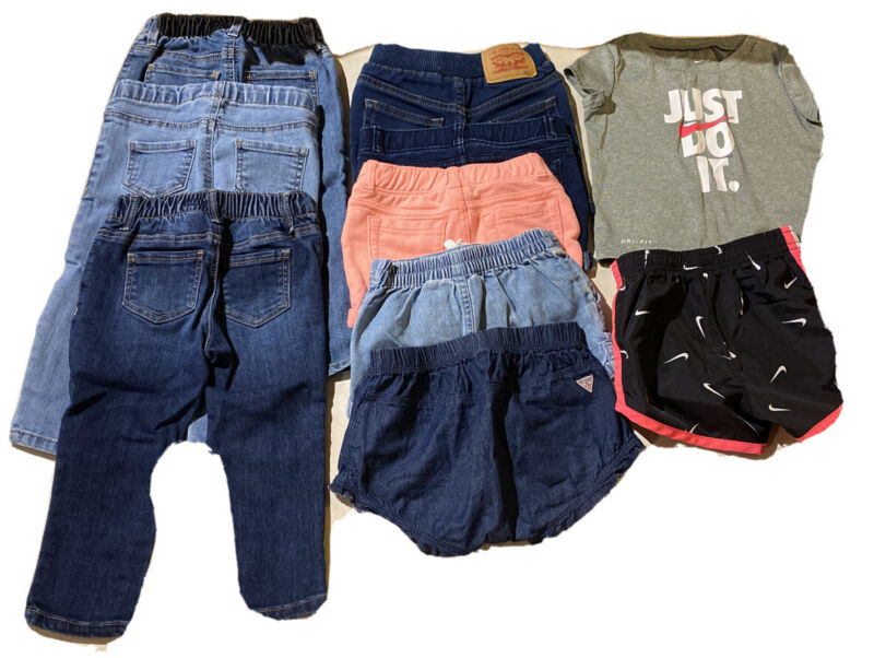 Lot Of Baby Clothes 12-18 Months (nike, Levi's, Osh Kosh, Guess)