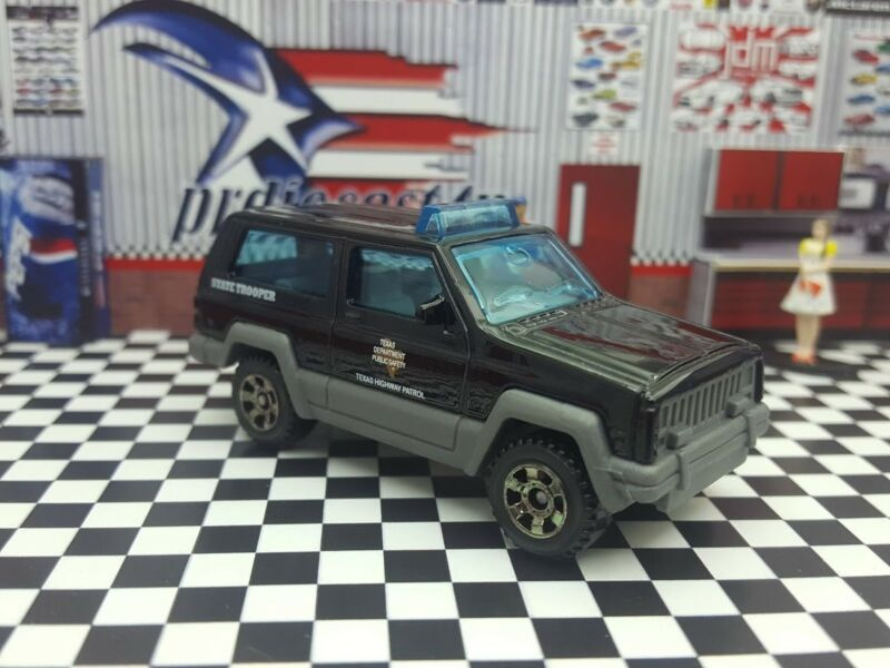 2018 Matchbox Texas Patrol Exclusive Jeep Cherokee