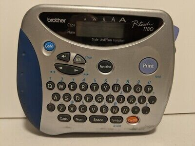 Brother P-touch 1180 Electronic Label Maker Printer