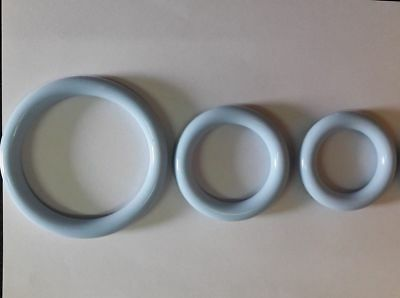 Ring Vaginal Pessary Silicone For Vaginal Prolapse 3 Sizes 50-65-75mm Soft New