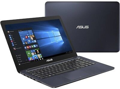 "ASUS 14"" Lightweight Laptop Intel 2.16GHz 4GB/32GB WebCam WiFi Dark Blue Laptop"