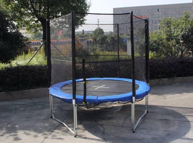 8ft 10ft 12ft 14ft 16ft Spring Trampoline With Net