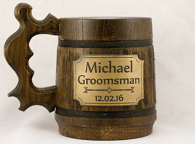 Wedding Gifts For Groomsmen (Groomsmen gift Rustic Wedding Gifts for groom Groomsmen flask Best man gift)
