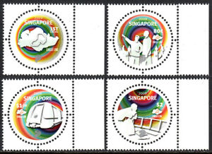 Singapore 1375-1378,MNH.Launch of the SMRT Circle Line.Train,Control center,2009