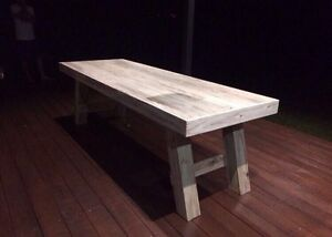 Custom made rustic furniture cafe bars indoor outdoor Highland Park Gold Coast City Preview
