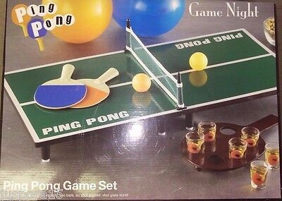 Ping Pong Drinking Game (NEW Game Night Ping Pong Drinking Game)