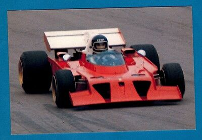 F1 Postcard - Ferrari 312 B3: Jacky Ickx: Monza 1973 - Niccolini of Italy