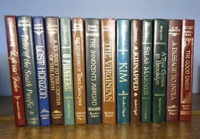 THE WORLD'S BEST READING Reader's Digest 14 Volumes Classics Twain Buck Verne