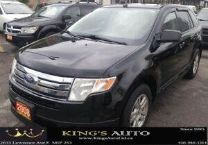 2008 Ford Edge SEL, AWD, PANORAMIC SUNROOF