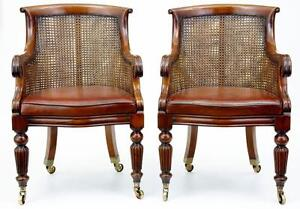 antique bergere chairs