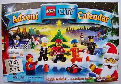 Lego City 7687 Advent Calendar NEW unopened Christmas