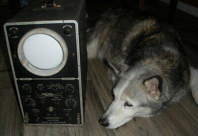 Vintage Precision Apparatus Series Es-520 Cathode Ray Oscillograph Oscilloscope