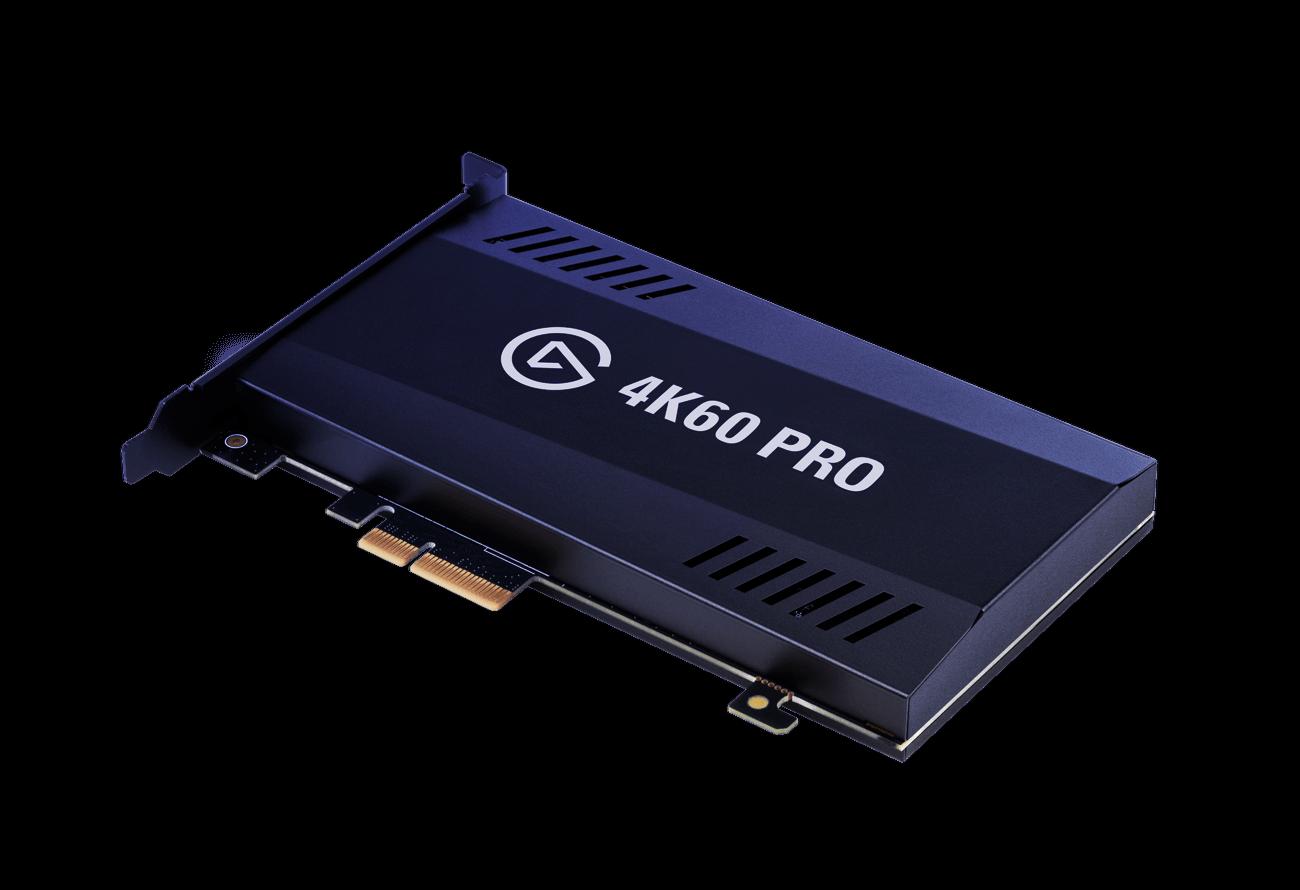 Elgato Game Capture 4K60 Pro Recorder Card PCI-Express x4 HD