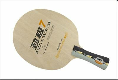 DHS Power G7 OFF+ flared   FL Handle Table tennis Ping Pong Blade FREE  SHIPPING ba98cb9260da7