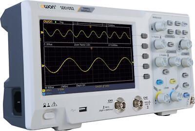 Memory Length Portable Desktop Oscilloscope Owon Sds1052 50mhz Bandwidth 10kpt
