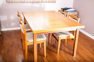 Rectangle Teak extendable Dining  table (Table only)