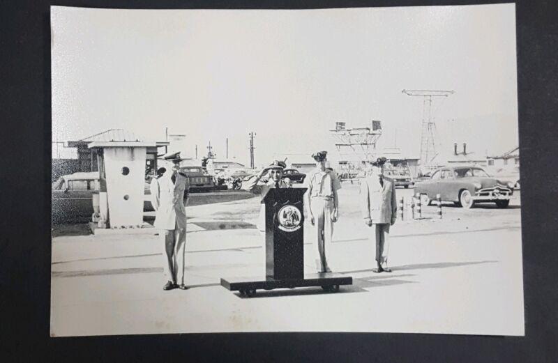 Vintage Original  U.S. Military Photo Patron Fifty Aviation Patrol Installation