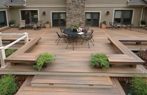 WOODEN DECK REPAIR AND INSTALLATION 416-888-6992