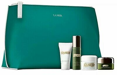 La Mer Set Moisturizing Cream, Regenerating Serum, Eye Concentrate, Cleanser