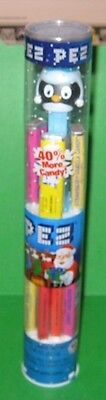PENGUIN PEZ Dispenser in Tube with Candy Christmas 2012 - 2.9 ounce