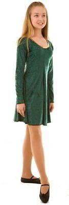 CELTIC/Lyrical//ST Patricks Day/Irish DANCE Dress-Gold sequin trim in - Irish Dance Kostüme