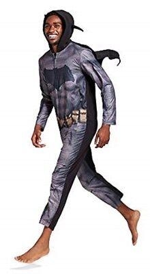 Men's Batman Vs. Superman Dawn Of Justice Union Suit Pajamas w/cape - Large