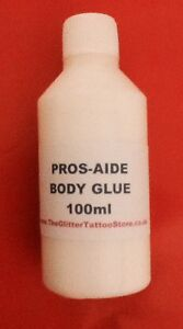 100ml refill bottle glitter tattoo body glue pros aide for Glitter tattoo glue