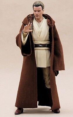"MY-R-BN: FIGLot Brown Jedi Fabric Robe for 6"" Star Wars Obi-wan (No figure)"
