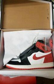 Air Jordan 1 Track red • UK 8 UK 9