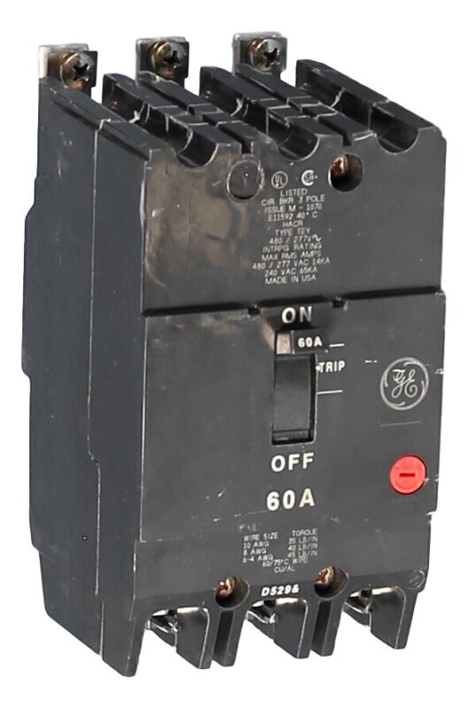 TEY360 General Electric Bolt-on Circuit Breakers Quality