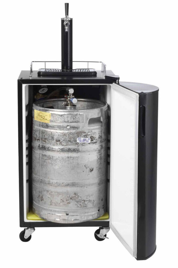 haier beer dispenser. nostalgia electrics krs2100 kegorator beer keg fridge haier dispenser