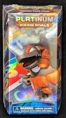 - Pokemon Platinum Rising Rivals Drill Point Rhyperior Theme Starter Deck SEALED!