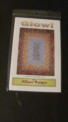 Glow by Allison Quilt Design Pattern New