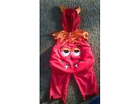 Halloween, devil's fancy dress costume, 12 -24 months