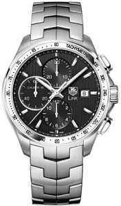 NEW AUTHENTIC TAG HEUER CHRONOGRAPH LINK AUTOMATIC WATCH CAT2010.BA0952