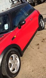 Red Mini One 05 plate