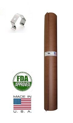 """24"""" x 150' Pink/Peach Butcher Paper Roll Smoker Safe Aaron Franklin BBQ Style"""