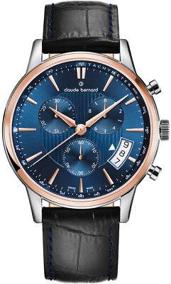 Claude Bernard By Edox Classics Men's Watch 01002.357R.BUIR Chronograph