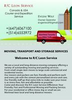 Moving, Transport, Storage and  Rubbish Removal