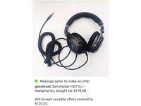 Sennheiser headphones HD7 DJ