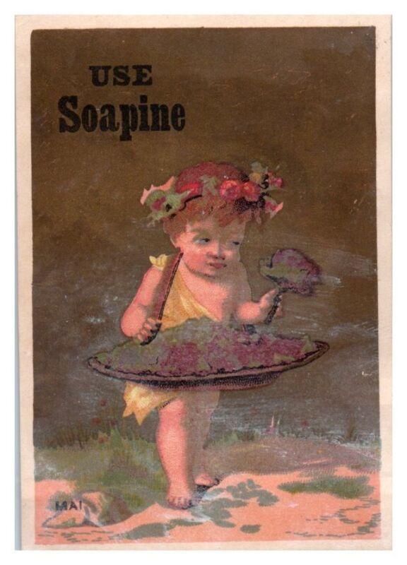 Mai Baby Use Soapine Soap Victorian Trade Card