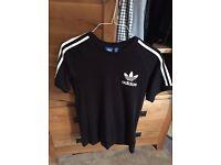MEN's Adidas Original T-Shirt Black size S