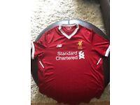 Mens large Liverpool FC 2017/2018 Home shirt like new